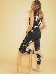 Bleached Jumper Comfy One PIece Pattern Jogger Back