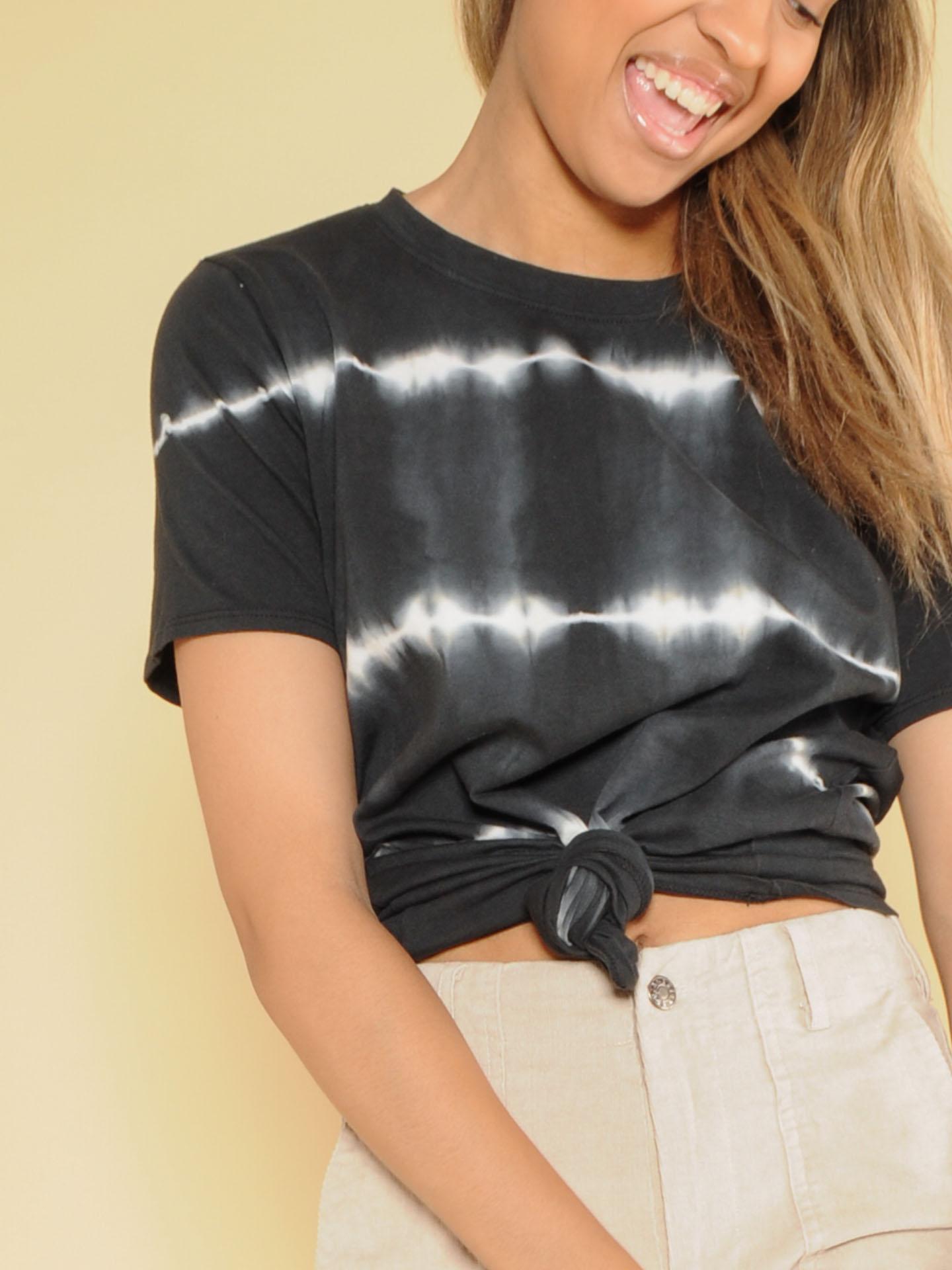 Heartbeat Top  Velvety Soft Basic Striped