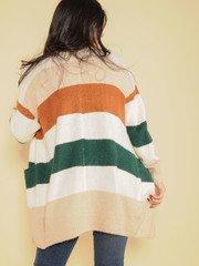 Rachelle Sweater Striped Warm Layer