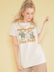 Make Your Own Path Tee
