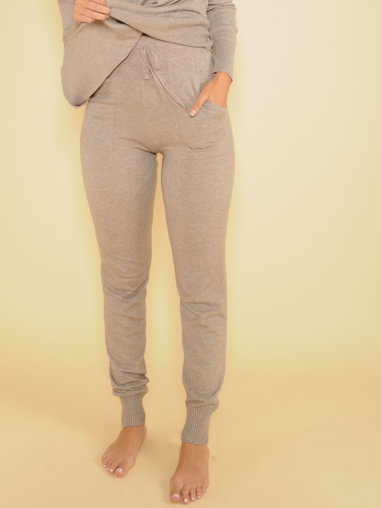Sleepy Style Jogger Grey High Rise Soft Bottoms