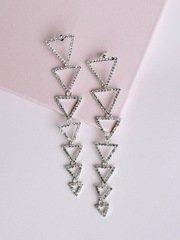 Trickle Triangle Earrings