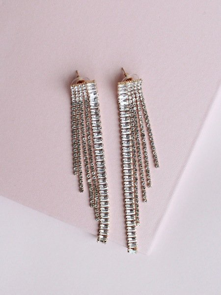 Gold Line Earrings