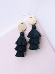 Fringe Layer Earrings