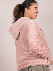 Ava Jacket Blush Pink Soft Faux Fur Coat
