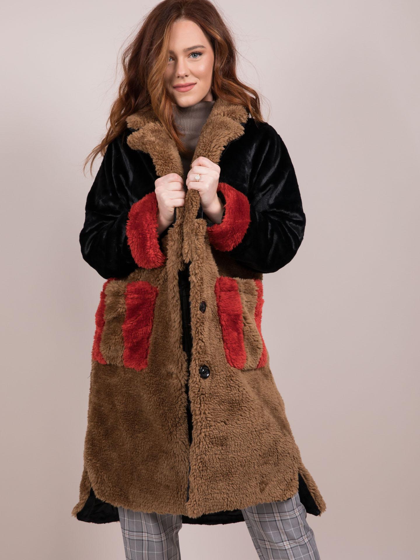 Heather Long Jacket Vintage Style Coat