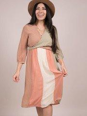 Burst Your Bubble Dress Colorful Midi