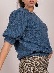 Ember Sweater Balloon Sleeved Crew Neck