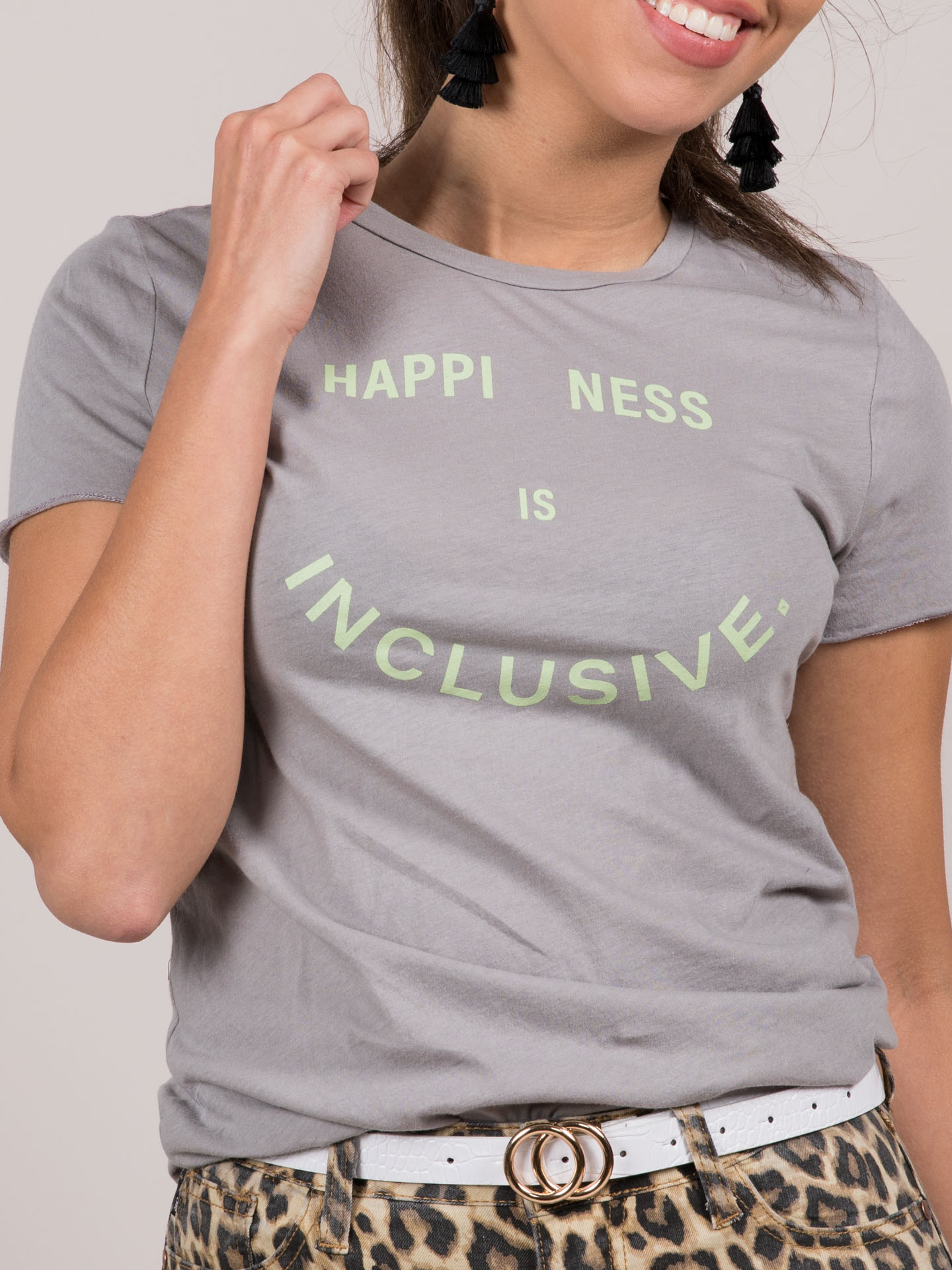 Happiness is Inclusive Tee