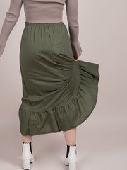 Teagan Maxi Skirt Dancing High Rise Basic