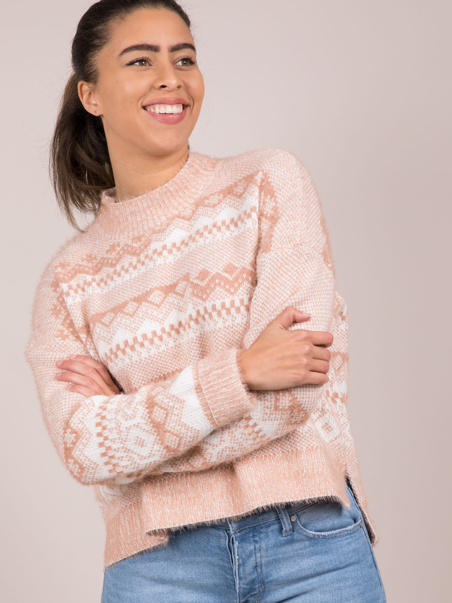 Joanne Sweater Line High Neck Soft