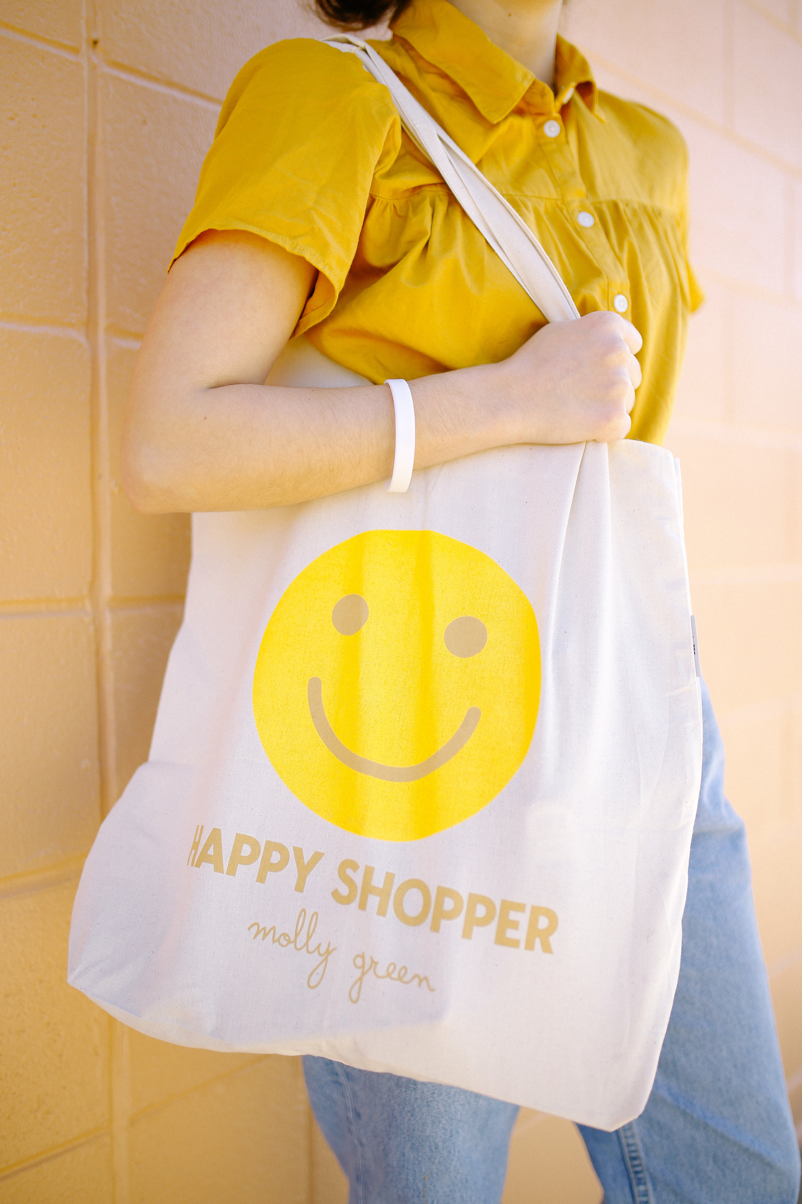Happy Shopper Tote