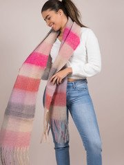 Pink Molly Scarf