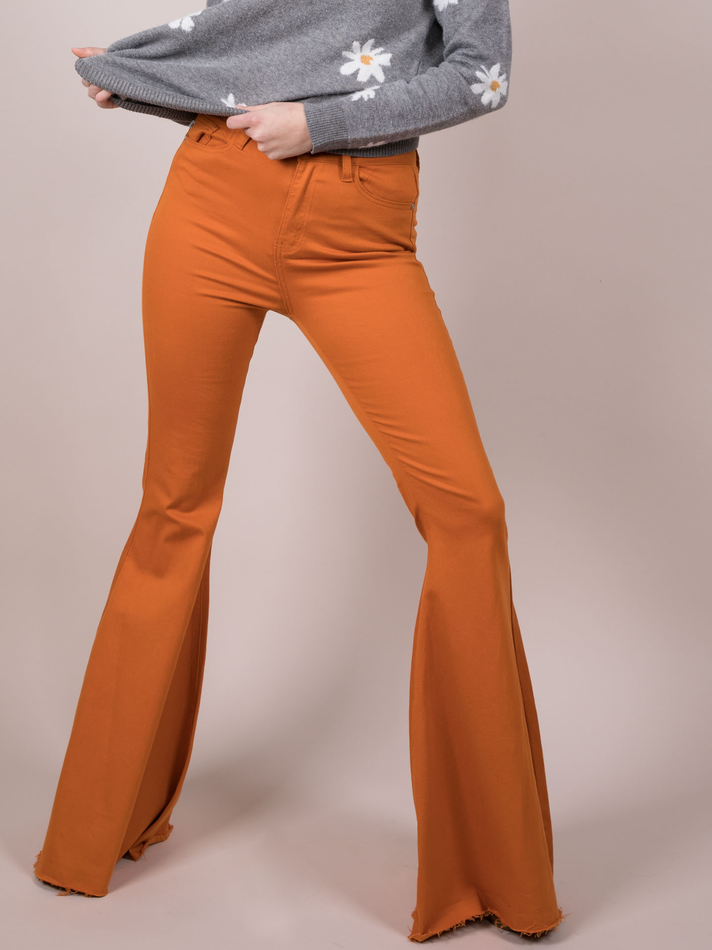 Bright Bell Bottoms Spirit Flares Front
