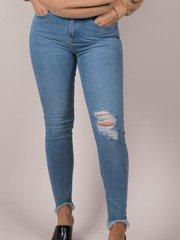 Trendy Light Wash Skinny Odette Jeans