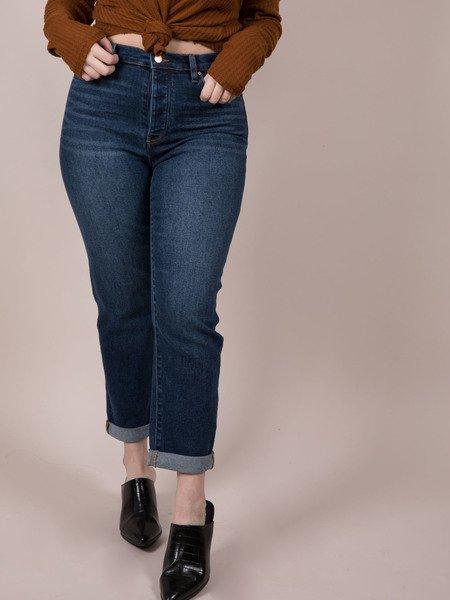 Dark Denim Cropped Skinnies Canterbury Jeans