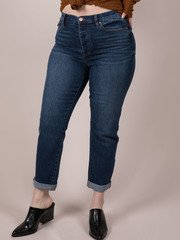 Dark Denim Cropped Skinnies Canterbury Jeans