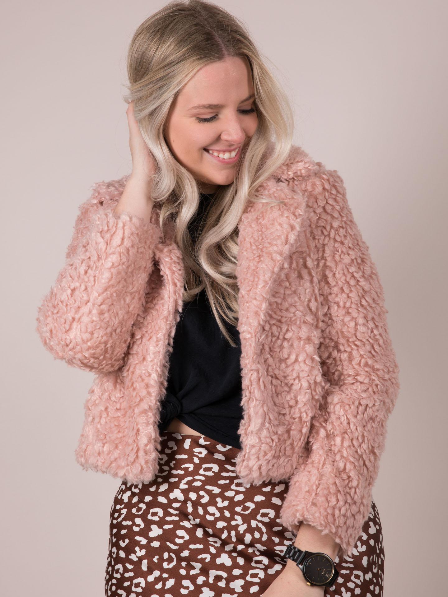Stevie Jacket Pink Front