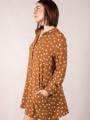 Furrow Polka Dot Dress