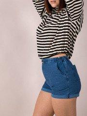 Denim Look Sheggings Neeka Shorts
