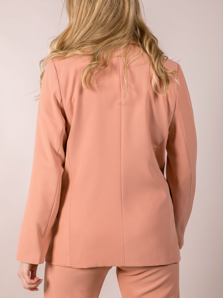 Bright Colored Jacket Blush Holland Blazer Back