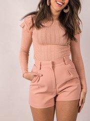 Bright Colored Shorts Blush Holland Shorts