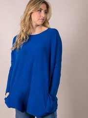 Hit The Road Sweater Classic Blue