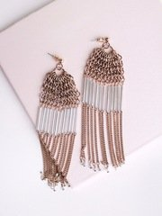 Waterfall Chain Earrings