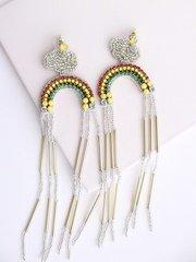 Cloud Rainbow Earrings
