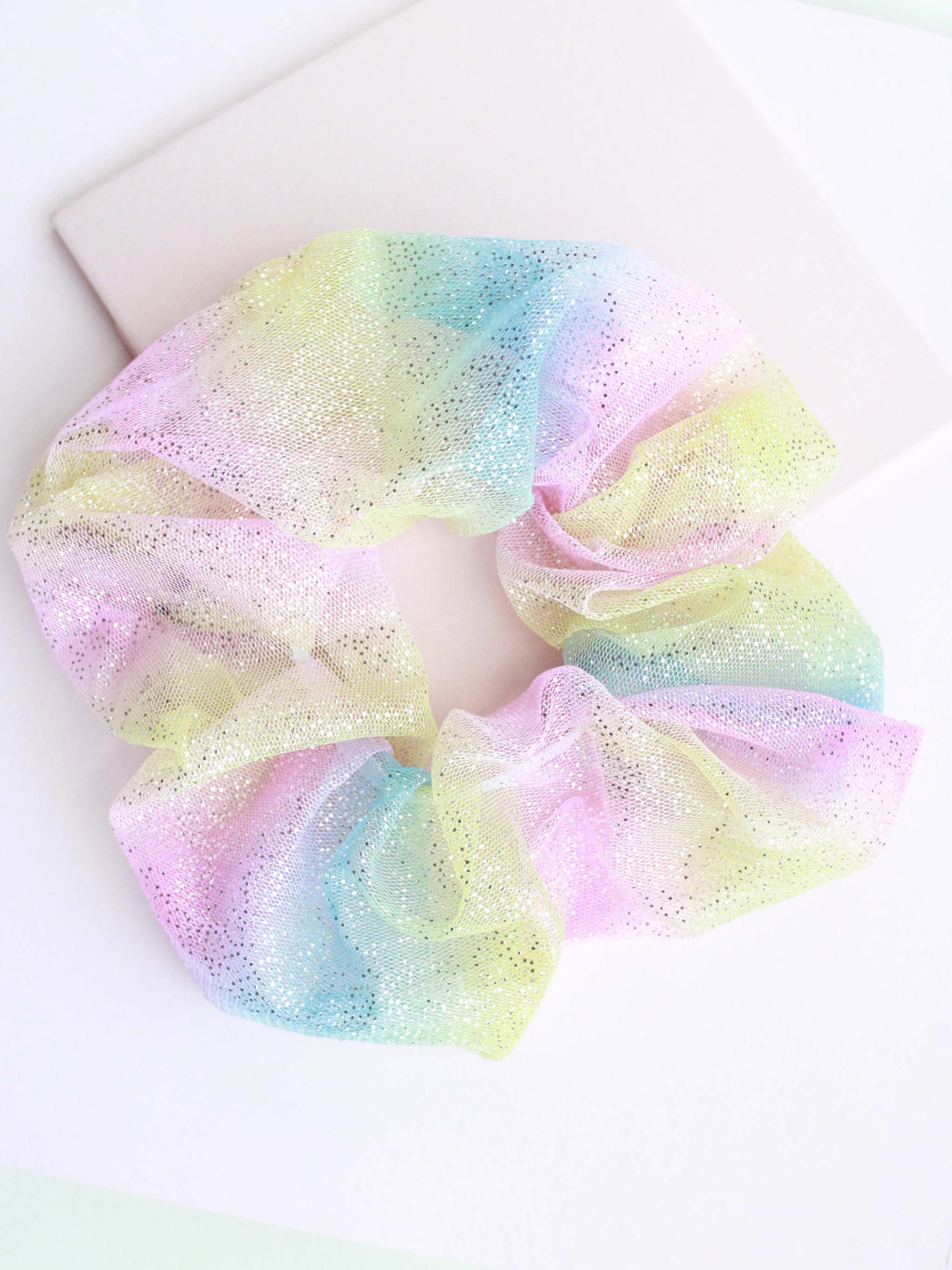 Color Pattern Scrunchies