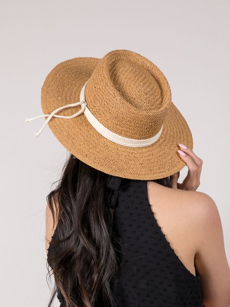 Beach Straw Circle Brim Meike Hat