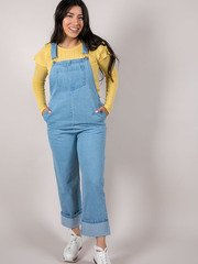 Alandra Overalls Relaxed Fit Denim Piece