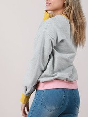 Lola Sweater Color Block Pullover Back