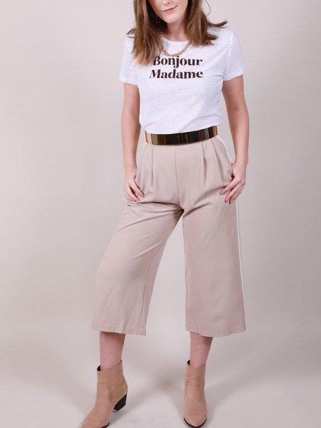 Tatum Crop Pants  Hi Rise Summer Classics
