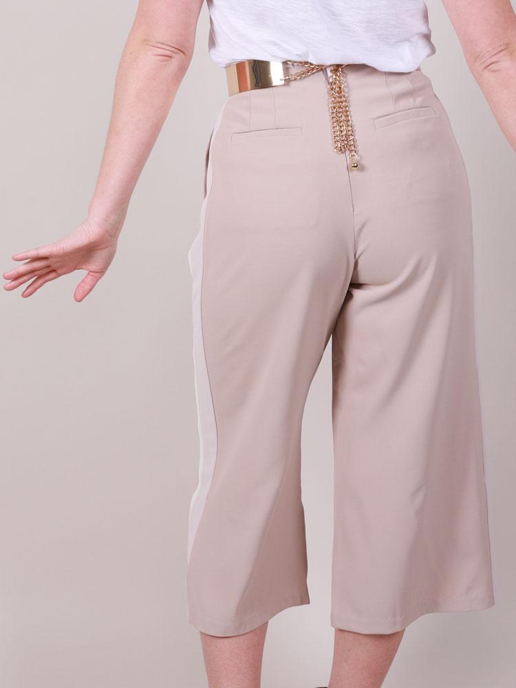 Tatum Crop Pants  Hi Rise Summer Classics Back