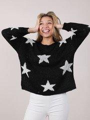 Adema Star Sweater Oversized Stylish Long Sleeve