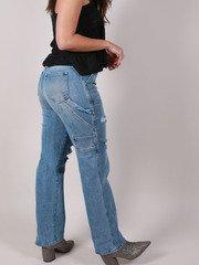 Utility Styler Straight Legs Craftsman Jeans