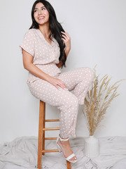 Keeley Polka Dot Jumpsuit