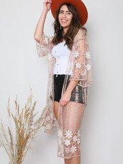 Kalina Sheer Kimono