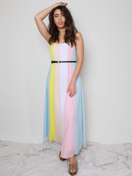 Belinda Rainbow Dress