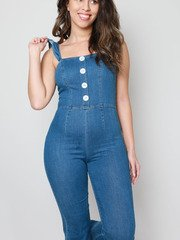 Denise Denim Jumpsuit