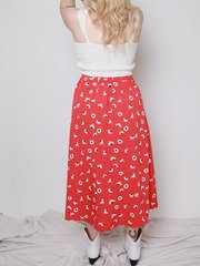 Chrissy Flower Skirt