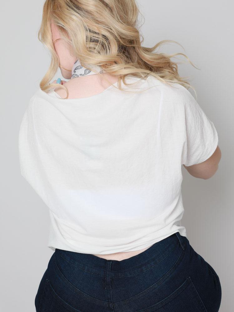 Samya Button Top