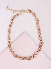 Single Chain Necklace Gold
