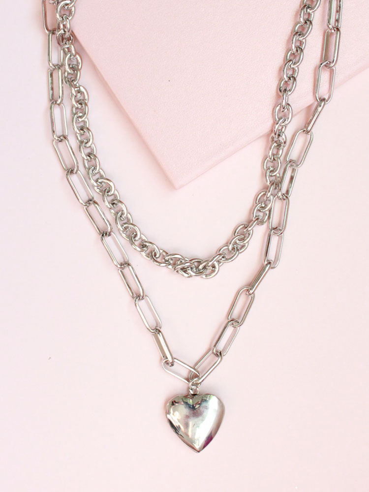 Locket Chain Necklace