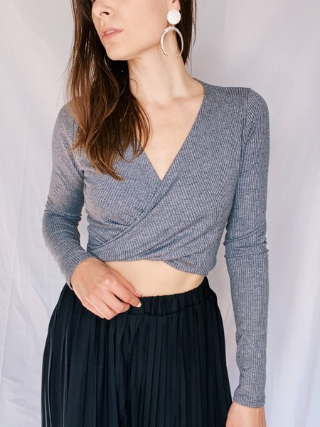 Marta Crop Long Sleeve