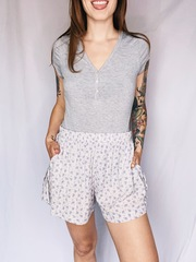 Donna Slouchy Shorts