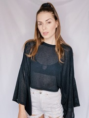 Lohan Top Waffle Knit Wide Top