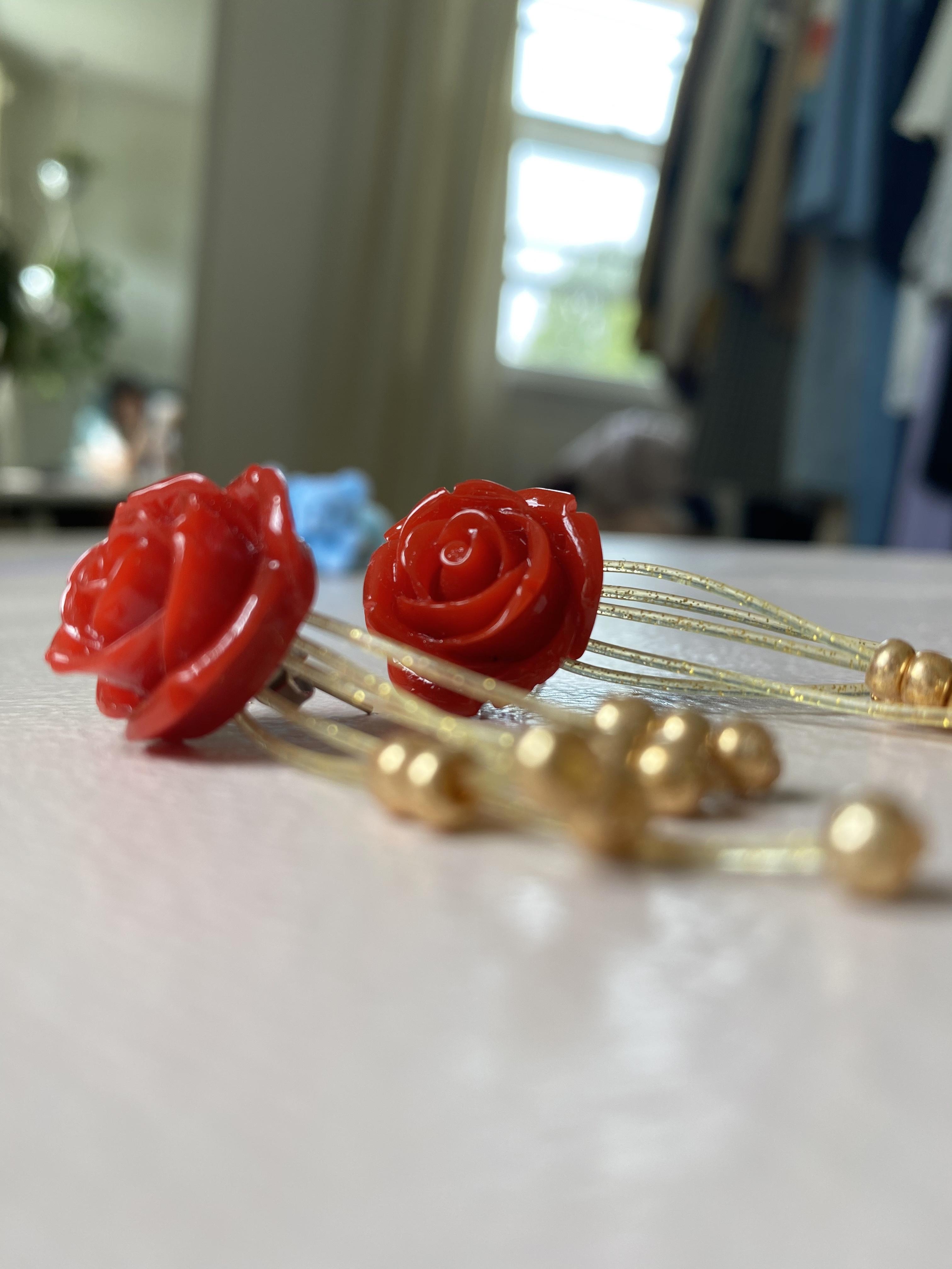 Studmuffin Rose Earrings