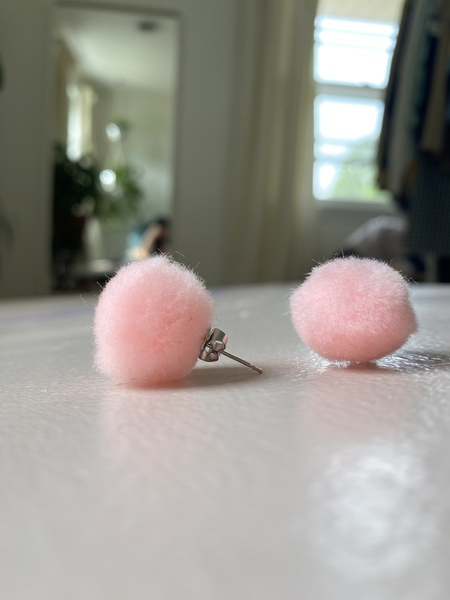 Studmuffin Puff Earrings